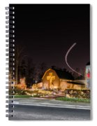 Christmas Celebration At Billy Graham Spiral Notebook