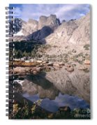 Cirque Of The Towers In Lonesome Lake   Spiral Notebook