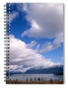 Clouds Over Lake Quinault Spiral Notebook