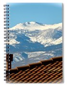 Cold Day New Snow Up There Spiral Notebook