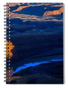 Colorado River Sunset Spiral Notebook