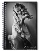 Creepy Young Girl Spiral Notebook