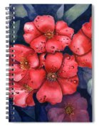 Dew Drop In Spiral Notebook