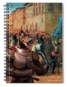 Doberman Pinscher Art -entree De Charles Viii Dans Florence Spiral Notebook