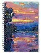 Dusk River Spiral Notebook