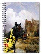 English Mastiff  - Mastiff Art Canvas Print - The Ruins Home Spiral Notebook