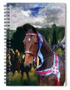 Entlebucher Sennenhund  - Entelbuch Mountain Dog Art Canvas Print -who Is The Winner Of The Race Spiral Notebook