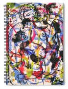 Erotic Nude Spiral Notebook