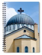 Exterior Of  Holy Trinity Gree Spiral Notebook