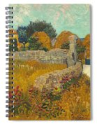 Farmhouse In Provence Spiral Notebook