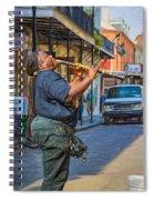 Feel It - Doreen's Jazz New Orleans 2 Spiral Notebook