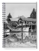 Net Shed Gig Harbor Spiral Notebook