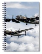 Flying Lancasters Spiral Notebook