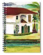 Fort Lauderdale Waterway Spiral Notebook