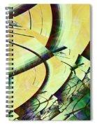 Fragmentation Spiral Notebook