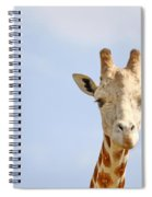 Friendly Giraffe Spiral Notebook