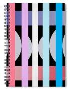 Fun Geometric  Spiral Notebook