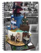 Grand National Wedding Cake Competition 741 Spiral Notebook
