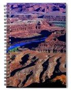 Grand View Point Overlook Spiral Notebook
