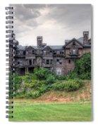 Halcyon Hall  Spiral Notebook