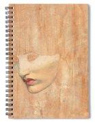 Head Of Proserpine Spiral Notebook
