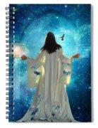 Heavens Door Spiral Notebook
