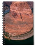 Horseshoe Bend Spiral Notebook