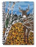 Hunter's Deer Camp Spiral Notebook