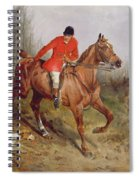 Hunting Scene Spiral Notebook