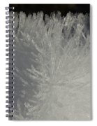 Ice Crystal Formations Spiral Notebook