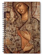 Icon Of The Blessed Virgin With Three Hands Spiral Notebook