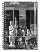 In Praise Of Everything Bw Spiral Notebook