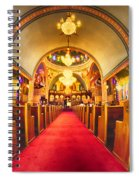 Interior Of  Holy Trinity Gre Spiral Notebook
