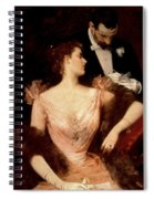 Invitation To The Waltz Spiral Notebook