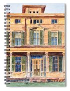 Italianate House Ny Spiral Notebook