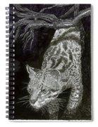 Jaguar Or Jacaranda  Spiral Notebook