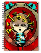 Jazzplayer Spiral Notebook