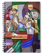 Jesus Anointed At Bethany Spiral Notebook
