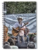 John Arthur Martinez Band Spiral Notebook