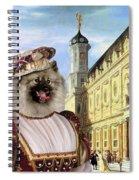 Keeshond Art Canvas Print Spiral Notebook