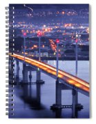 Kessock Bridge Inverness Spiral Notebook