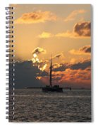 Marelous Key West Sunset Spiral Notebook