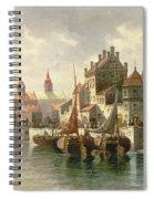 Kieler Canal Spiral Notebook