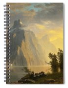 Lake In The Sierra Nevada Spiral Notebook
