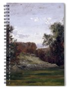 Landscape Near The Monastery Piedra. Aragon Spiral Notebook