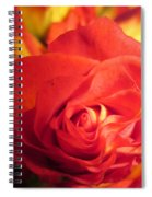 Layers In Red Spiral Notebook