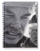 Lee Marvin Monte Walsh Variation #3 Collage Old Tucson Arizona 1969-2012 Spiral Notebook