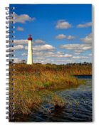 Lighthouse At The Water Spiral Notebook