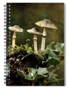 Little Mushrooms Spiral Notebook