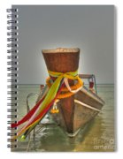 Long Tail Boat Spiral Notebook